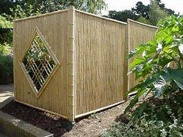 sichtschutz - Bambus Sichtschutz